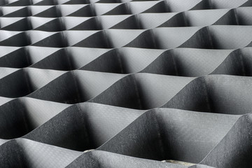 geometric texture grille