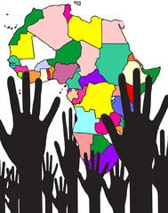 aiuto al continente africano