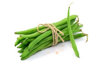 Ernte Bohnen