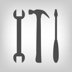 Three tools set