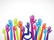 mains groupe intégration handicap