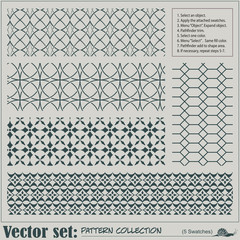 Vector abstract seamless pattern for decoration and design