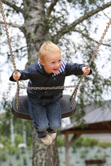 Child and Swing