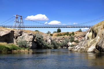 Thermopolis / Bighorn river - Wyoming (USA)