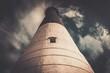 Lighthouse against  beautiful cloudscape