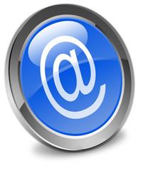 bouton arobase, e-mail  icône internet