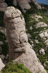 Rock in Montserrat Mountains