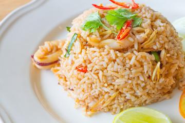 Fried Rice with Lemongrass , Thai food