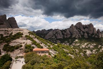 Montserrat Mountains in Spain