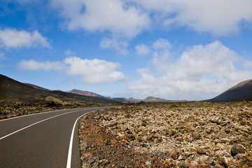 route Timanfaya