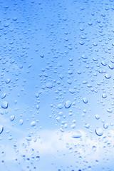 water drops - rain drops