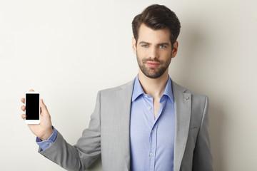 Young businessman portrait