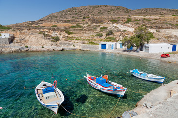 Ag. Nikolas bay, Kimolos island, Cyclades, Greece