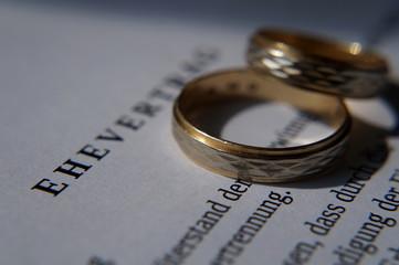 Ehe Vertrag