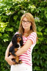 Female veterinarian