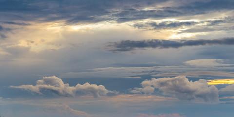 Cloudy Autumn Sky