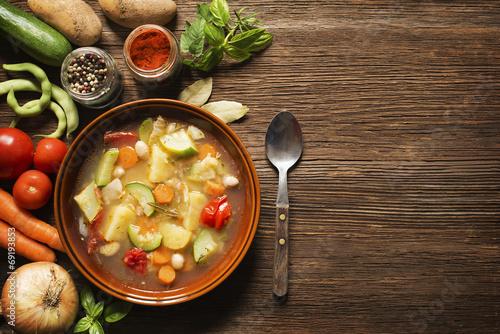 Canvas Groenten Vegetable stew