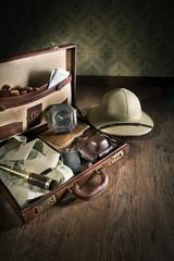 Adventurer's suitcase