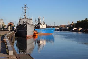 Ship, Baltic sea