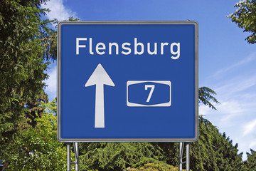 A7 Richtung Flensburg