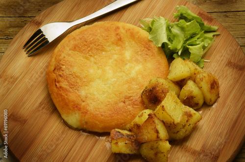 canvas print picture Frico e patate Cucina friulana Frigga Fricco フリコ 프리코