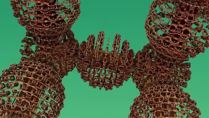 Fractal Animation background