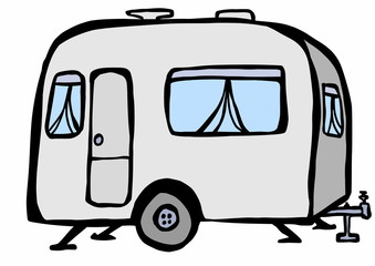 doodle caravan