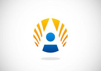 people success vector logo
