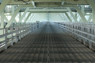 明石海峡大橋のキャットウォーク