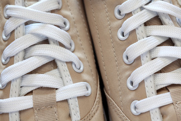 Sneakers close-up