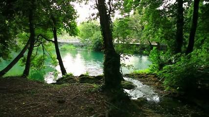 River in Krka National Park, Croatia