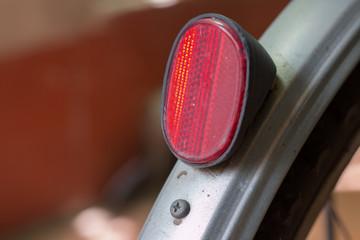 Rear red reflectors