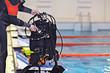 scuba diving equipment cylinders - 69199664