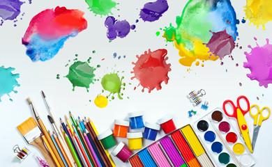 Materials for children's creativity