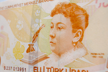 Fatma Aliye on Turkish Banknote
