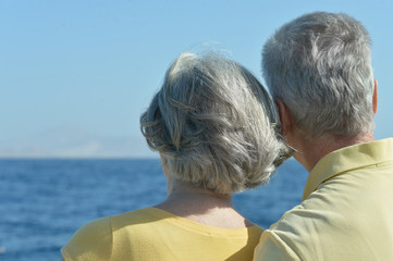 couple looking at sea