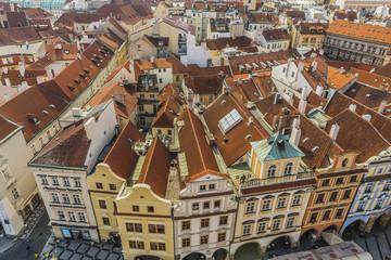 Прага Вид с Ратуши