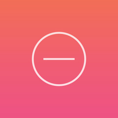 Minus - Finely crafted line icons