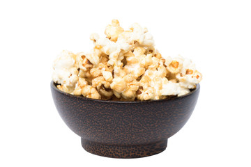 Popcorn Isolated and Clipping path