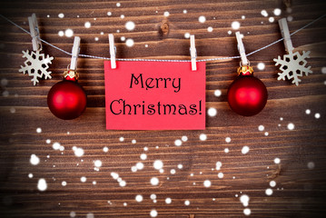 Snowy Christmas Greetings
