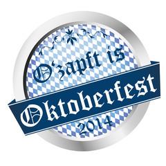 Button Oktoberfest 2014 - O'zapft is