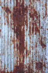 Galvanized iron with stain