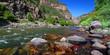 Leinwandbild Motiv Colorado River Glenwood Canyon