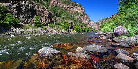 Colorado River Glenwood Canyon