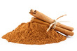 Cinnamon powder and sticks - 69204872