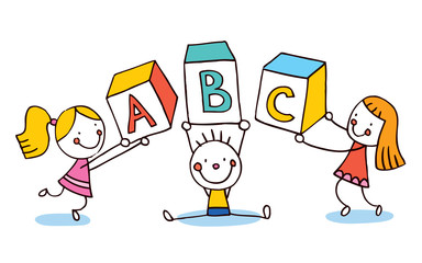 ABC letters kids education