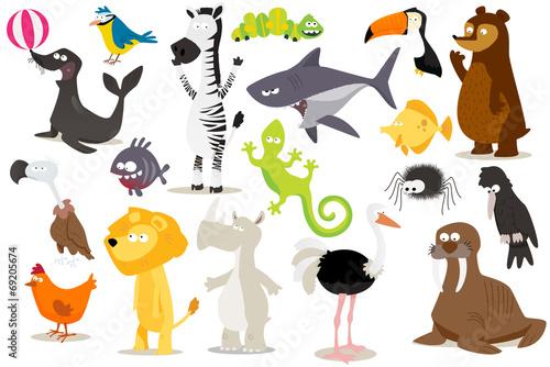 collection d'animaux pour enfants - 69205674