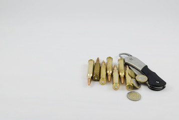Ammo and knife