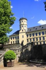Stadtschloss und Schlossgarten in Fulda