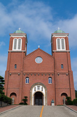 Urakami Cathedral (浦上天主堂) in Nagasaki, Japan